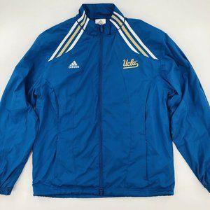 Adidas UCLA Bruins Track Jacket Windbreaker Logo